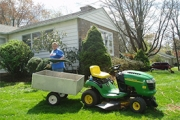 Ride on mower to care for your lawn in Lansdale, PA
