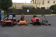 We have a range of landscaping equipment!