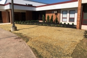school-landscaping-after