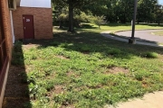 school-landscaping-before